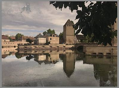 Digital Art - Memories Of Strasbourg by Gina Harrison