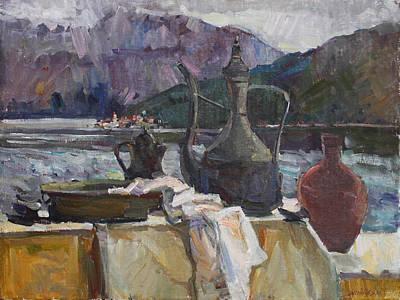 Painting - Memories Of The Balkans by Juliya Zhukova