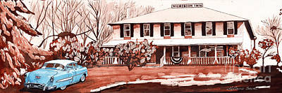 Painting - Memories Of The Nickerson Inn by LeAnne Sowa