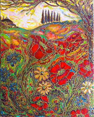 Painting - Memories Of Tuscany by Rae Chichilnitsky