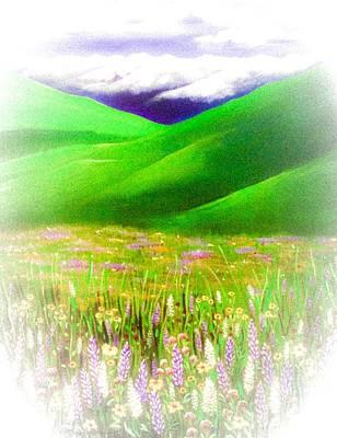 Painting - Memories Of Zumwalt Prarie by Jennifer Lake