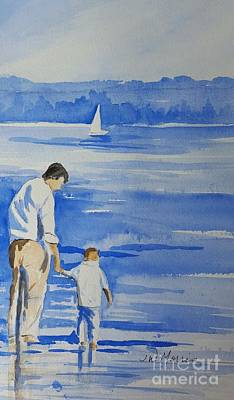 Painting - Memories On Lake Lanier by Jill Morris