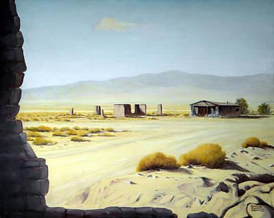 Painting - Memories Only Ballerat Calfornia by Evelyne Boynton Grierson