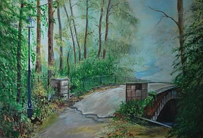 Painting - Memory Bridge by Leslie Allen