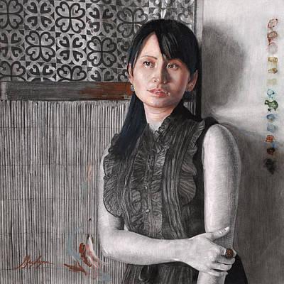 Painting - Memory by GayLynn Ribeira