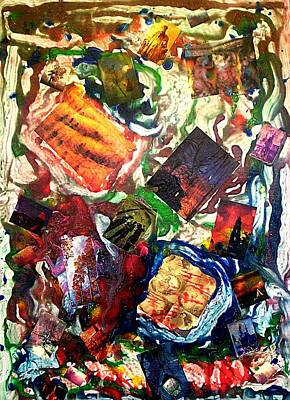Painting - Memory Lava Flow by Michael Puleo