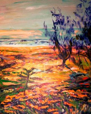 Painting - Memory Pandanus by Winsome Gunning