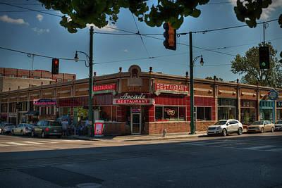 Photograph - Memphis - Arcade Restaurant 001 by Lance Vaughn