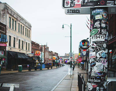 Photograph - Memphis Beale Street by Sonja Quintero