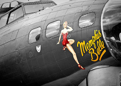 Photograph - Memphis Belle by Ian Merton