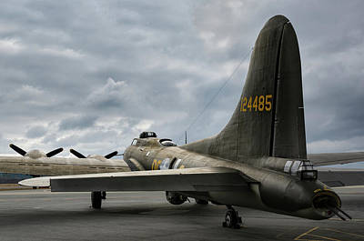 Photograph - Memphis Belle In Color by Chris Buff