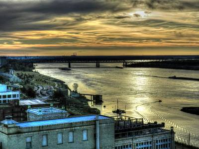 Memphis Fall Hdr 003 Art Print by Lance Vaughn