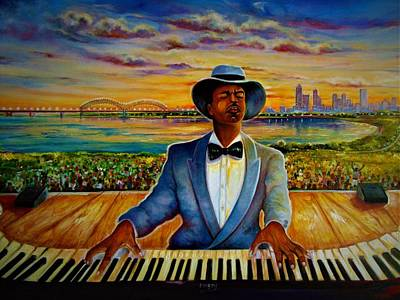 Painting - Memphis In May  by Emery Franklin