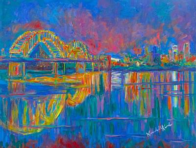 Painting - Memphis Lights by Kendall Kessler