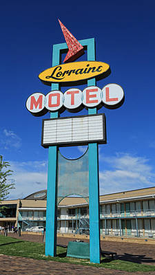 I Have A Dream Wall Art - Photograph - Memphis Lorraine Motel by Stephen Stookey