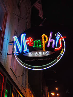 Photograph - Memphis Music 002 by Lance Vaughn