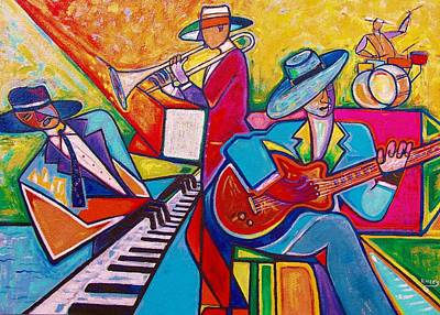 Painting - Memphis Music by Emery Franklin