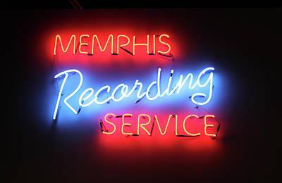 Photograph - Memphis Recording Service by Carlos Diaz