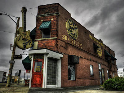 Johnny Cash Photograph - Memphis - Sun Studio 001 by Lance Vaughn