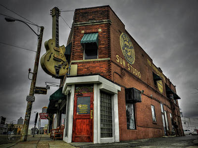 King Photograph - Memphis - Sun Studio 002 by Lance Vaughn