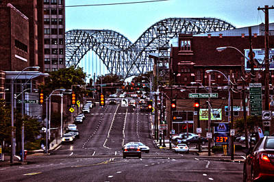 Photograph - Memphis Tennessee Bridge by Lesa Fine