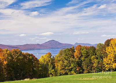 Photograph - Memphremagog Autumn by Alan L Graham