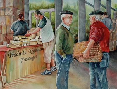 Painting - Men At Work by Diane Fujimoto