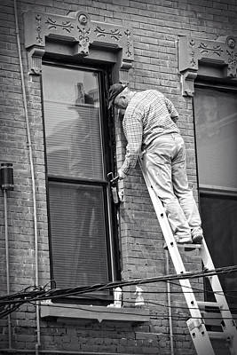 Photograph - Men At Work by Doc Braham