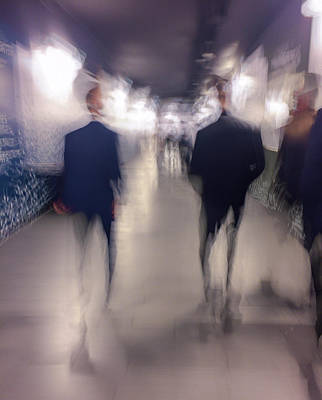 Photograph - Men In Suits by Alex Lapidus
