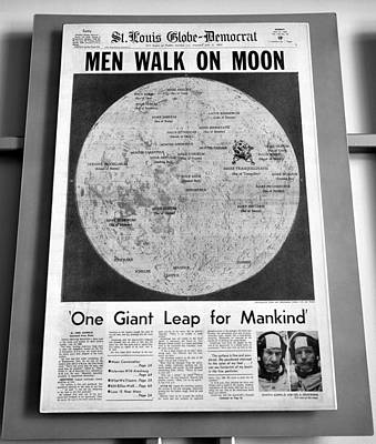 Photograph - Men On The Moon  by David Lee Thompson