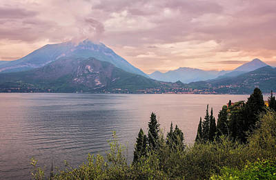 Photograph - Menaggio On Lake Como Italy by Joan Carroll