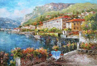 Menagio, Como Lake, Italy Original