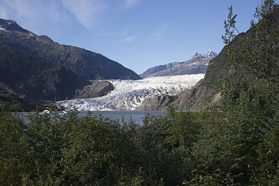 Photograph - Mendenhall Glacier 2 by Richard J Cassato