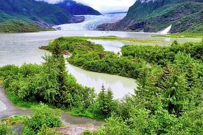Photograph - Mendenhall Glacier Alaska by Kirsten Giving
