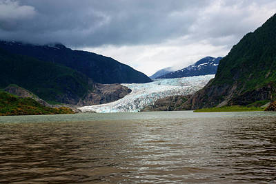 Photograph - Mendenhall Glacier  by Anthony Jones
