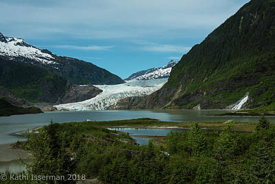 Photograph - Mendenhall Glacier by Kathi Isserman