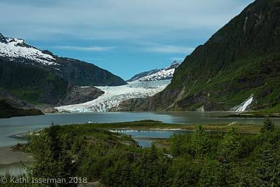 Photograph - Mendenhall Glacier by Kathi Isserman