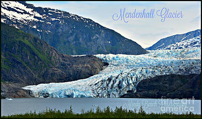 Photograph - Mendenhall Glacier by Mindy Bench
