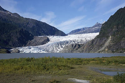 Photograph - Mendenhall Glacier by Richard J Cassato