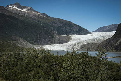 Robin Williams Photograph - Mendenhall Glacier by Robin Williams