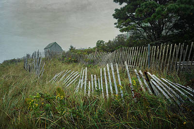 Photograph - Mending Fences 2 by Betty Wiley