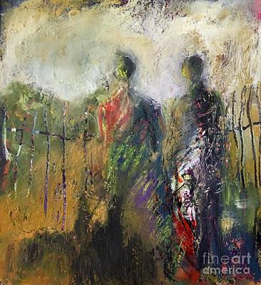 Painting - Mending Fences by Gail Butters Cohen