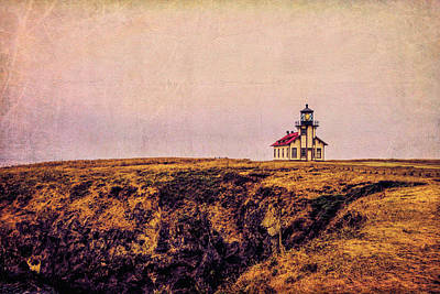 Photograph - Mendocino Coast Point Cabrillo Light Station by Garry Gay
