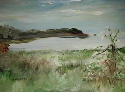 Mendocino Coastline Art Print by Edward Wolverton