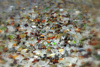 Photograph - Mendocino County's Glass Beach by Carla Parris