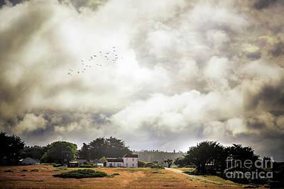 Photograph - Mendocino House II by Craig J Satterlee