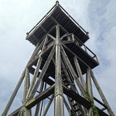 Photograph - Mendocino Water Tower by Dan Reich