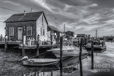 Photograph - Menemsha Basin Early Light II by Clarence Holmes