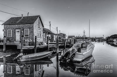 Photograph - Menemsha Basin Morning Twilight II by Clarence Holmes