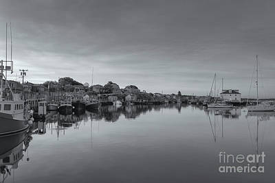 Photograph - Menemsha Basin Morning Twilight Vi by Clarence Holmes